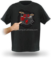 Hot selling amazing cool Playable Electronic Drum T Shirt