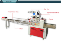 CE certificate and factory price Automatic bread /cake packing machine