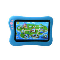 High quality Allwinner processor multi languages 7inch kids tablet education child pad rechargable battery