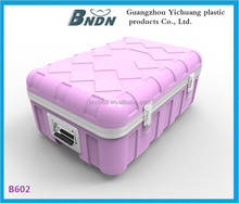 2014 hot sale plastic tool case with wheels, durable storage case,transport case