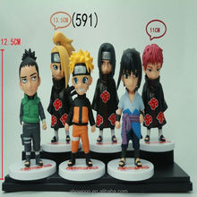 Wholesale japanese naruto action figures for toys shop
