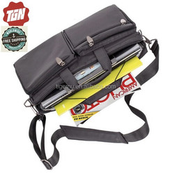 Brand Wholesale !!! 2015 High quality waterproof multi-functional computer bag with laptop and tablet pocket