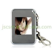 1.5'' inch mini frame beautiful digital photo frame keychain for gift