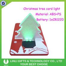 Promotion Plastic LED Card Light Gift