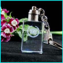 Customs hot sale crystal key chains with logo with full stock