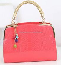 newest design handbags women bags lady fashion bag lady pink hand bag