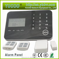 Home security system gsm based, wired/wireless GSM alarm panel