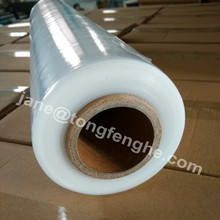 Hot film 15micron pe stretch wrapping film stretch film wrap