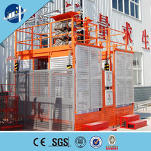 Two cage rack and pinion construction hoist/builidng hoist/construction lift/elevator