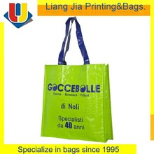 Best Selling Promotional Full Color Printing Laminated PP Woven Shopping Tote Bag