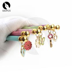KKPEN Colorful lovely click Pen Set Kawaii Korean Stationery Creative Gift School item