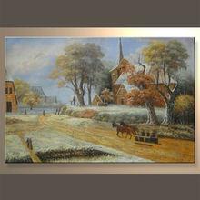 el más reciente del artista hechos a mano paisaje pintura del arte didcount en precio