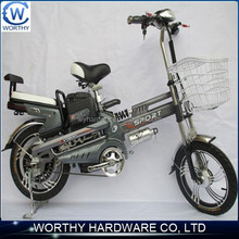 16'' electric bicycle with acid-lead battery with good quality and fashionalbe style
