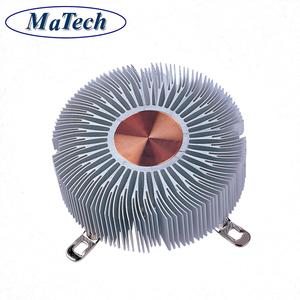 압출 성형 팬 및 방열판 또는 핀 핀 냉각