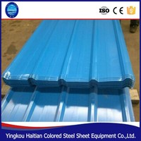 Hot sale 840 Color Coat Steel Roof Tile made in chinese factory