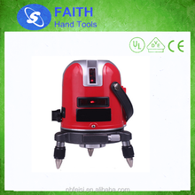 High accuracy cross line laser level