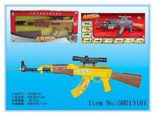 arma de brinquedo plástico