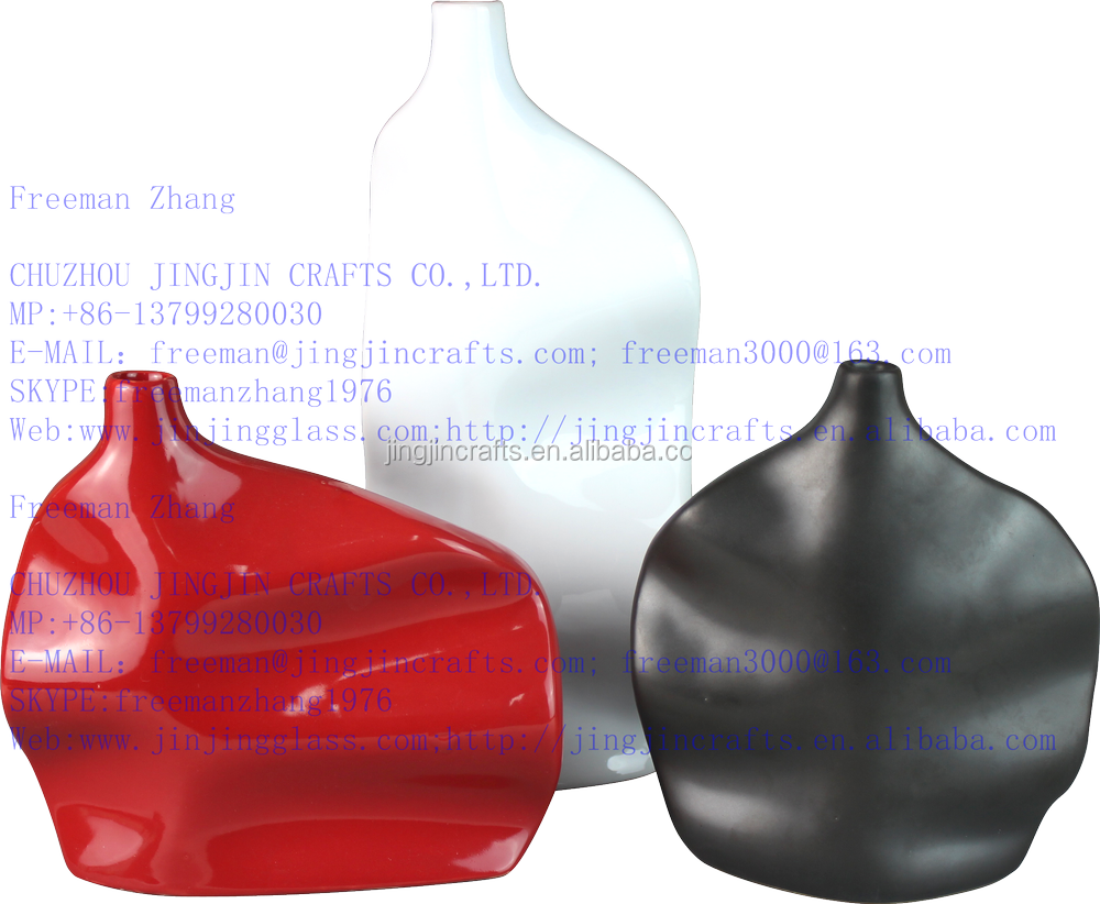 Americano, europeo moderno 3d ceramica porcellana vaso di fiori ...