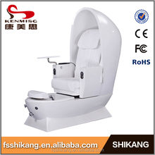 factory offer fashion round egg shape pedicure spa chair