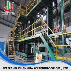 SBS modified bitumen waterproofing rolls for roofing production line machines