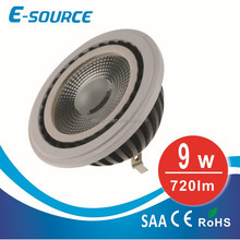 9W AR111 spot light 3000K GU53 with CE,SAA,LED spot