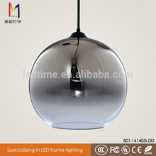 Hot selling modern black glass chandelier with great price
