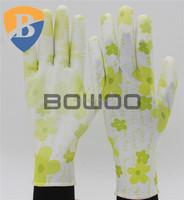 Premium PU coated sensitivity touch glove