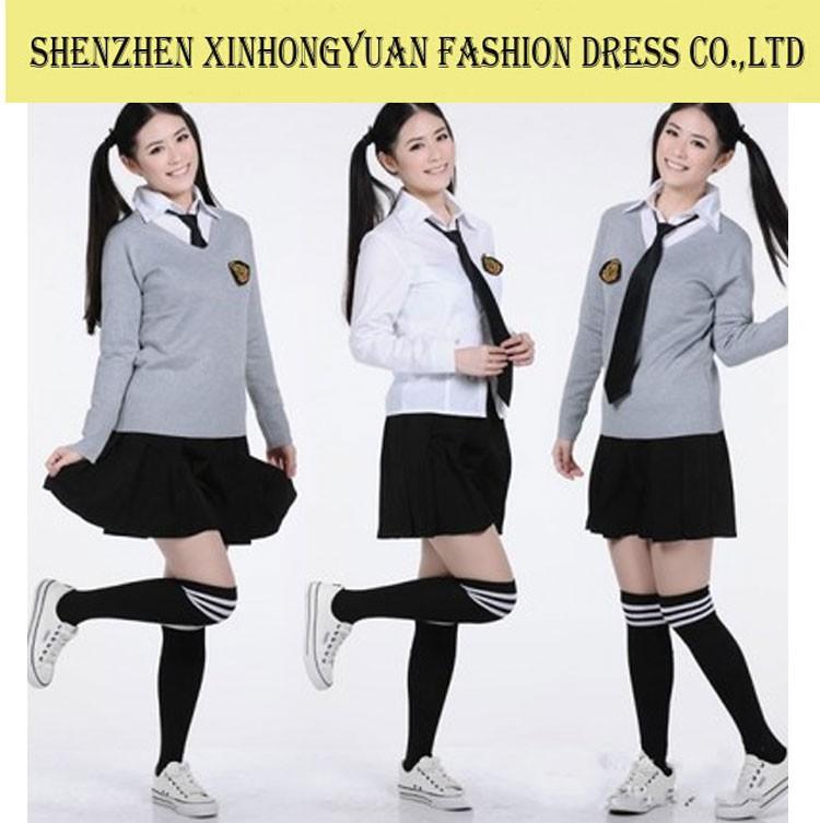 Japanese school girl shirt pattern