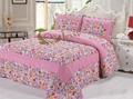 Rey tamaño de algodón patchwork edredones/cobijas los patrones de la venta para el mercado de malasia