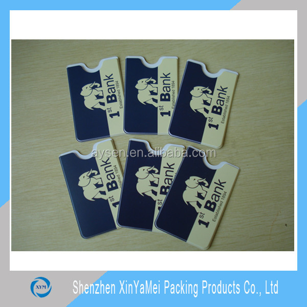 Plastic Gum PVC Credit Card Holder