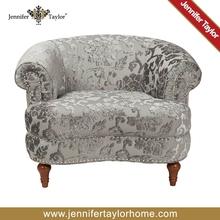 Attractive design popular wing chair sofa