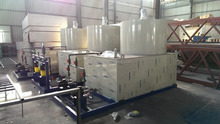 Supply dosing equipment for water treatment plant