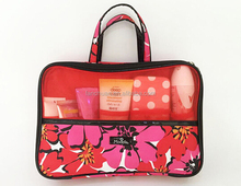 Classic beautiful color portable lady travel storage bag