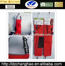 Plain coloured cotton twill printing kitchen apron
