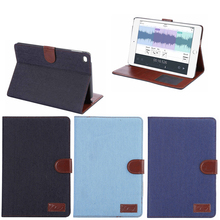 High Quality Jeans Design Wallet Leather Case for iPad Mini 4,Newest Wallet Case for iPad Mini 4