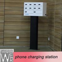 mobile phone charging station 9 docks 2014 new design usb charging station