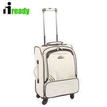 New Design 2015 Fashion and Royal Soft PU Trolley Luggage