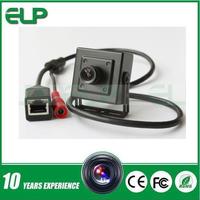 H.264 hd 720p 1.0 megapixel onvif cctv security p2p micro mini ip pinhole camera audio