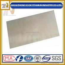ASTM B443 Inconel 625 nickel plate/sheet price per kg