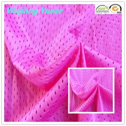 100% polyester quick dry mesh fabric for sportswear