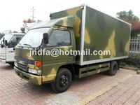 JMC light VAN truck (JNDFA5060XLCJ Small van truck 5 Ton )