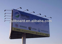 three side small design steel structre digital billboard advertising
