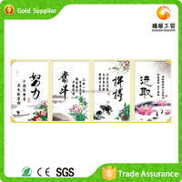 Zhejiang factory hot selling economical special wall art painting and calligraphy diy crystal diamond embroidery