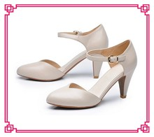 New styles brand ladies fancy shoes high heel