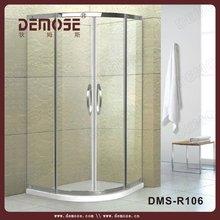 bathtub shower attachment/sliding glass frameless shower doors