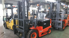 FB20 new condition battery power fork lift electric