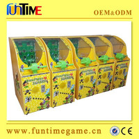 Funtime manufacturer arcade kids coin operated game machine, amusment game