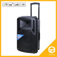 Portable Audio Player remote control pa power speaker with good price