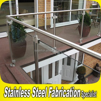 Handrail Project 304 316 Stainless Steel Modern Design for Balcony Railing