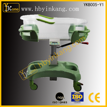 YKB005-Y1adjustable infant hospital bed/ children bed / baby crib with high quality